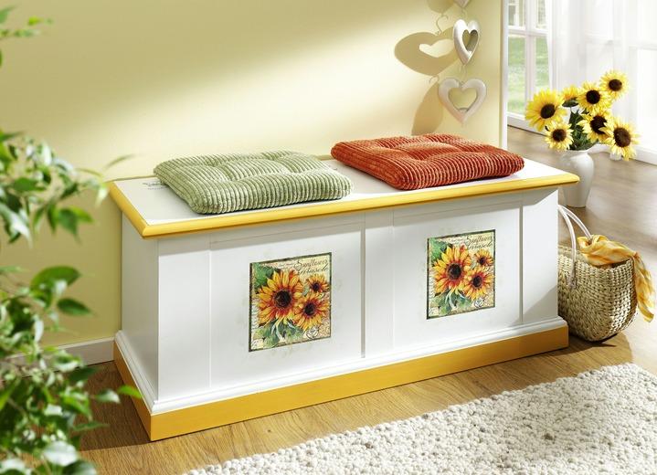 Möbel Serie Mit Sonnenblumendekor Wohnzimmer Brigitte Hachenburg