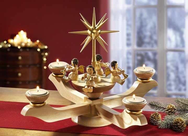 gl sser adventsleuchter in verschiedenen ausf hrungen weihnachten brigitte hachenburg. Black Bedroom Furniture Sets. Home Design Ideas