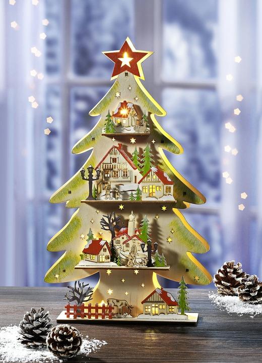 beleuchteter tannenbaum weihnachtliche dekorationen. Black Bedroom Furniture Sets. Home Design Ideas