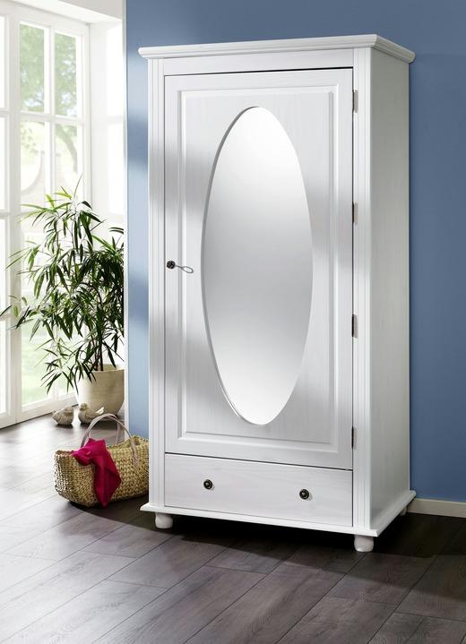 massiver kleiderschrank 1 t rig garderobenm bel. Black Bedroom Furniture Sets. Home Design Ideas