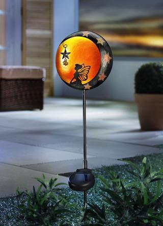 Solarstecker Sonne Und Mond Gartenbeleuchtung Brigitte Hachenburg