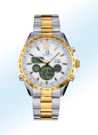 """Quality Time"" GPS-Chronograph"