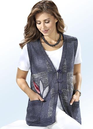 Strickjacken und strickwesten f r damen kaufen brigitte for Brigitte hachenburg modekatalog