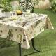 Wachstuch-Tischdecke mit Eulen-Motiven 62260-108