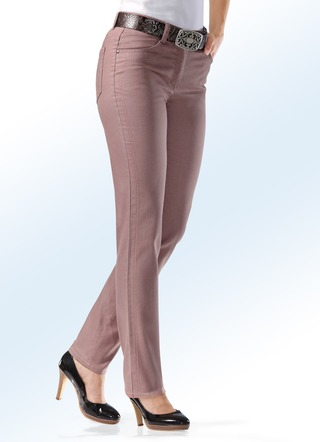 Power-Stretch-Jeans figurformend in 8 Farben